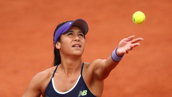 Heather Watson is the first Brit through to R2. #RG16 - from BBC Tennis‏ | Twitter