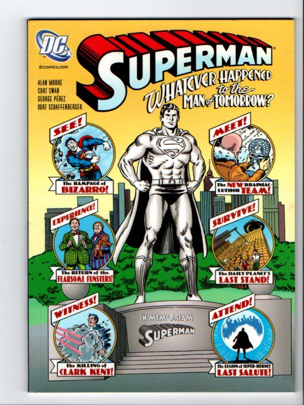 Title Superman Whatever Happened To The Man Of Tomorrow Issue