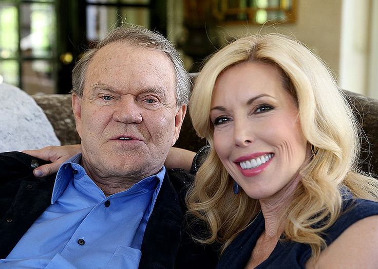 Kimberly Woolen; she was the fourth wife of Glen Campbell, the legendary country singer, known for his 1975 song Rhinestone Cowboy