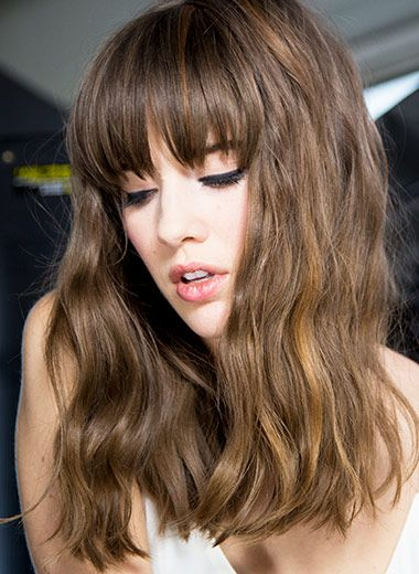 Long Hairstyles With Bangs Superstars Rocking Right Now