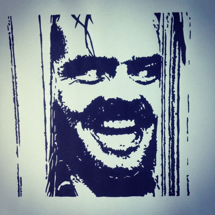 The Shining, Black pigment ink, A3