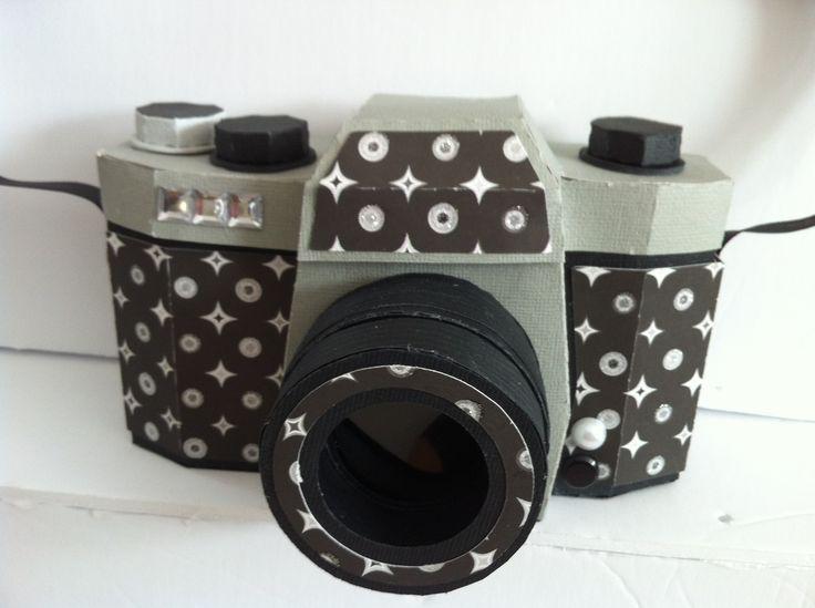 Camera box! Isn't it so cool?? #svgcuts