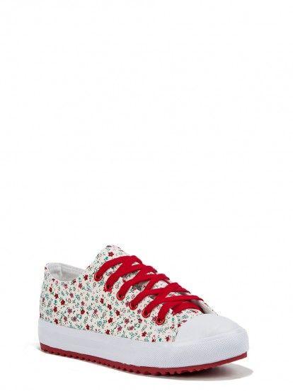 Női tornacipő BULLDOZER - piros