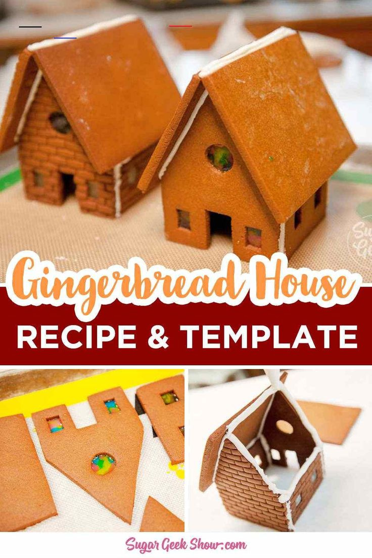 Gingerbread House Recipe & Free Template!