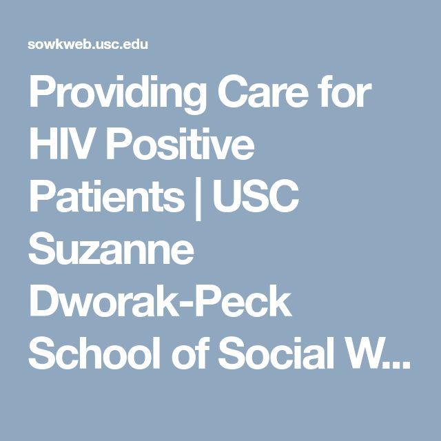 Providing Care for HIV Positive Patients | USC Suzanne Dworak-Peck School of Social Work
