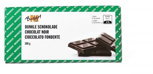 Bild von M-Budget Dunkle Schokolade