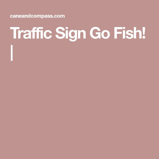 Traffic Sign Go Fish! |