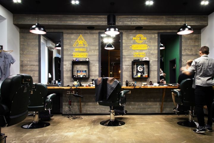Barboss Barbershop and tattoo salon by Workshop Dmitriy Grynevich, Kiev – Ukraine » Retail Design Blog