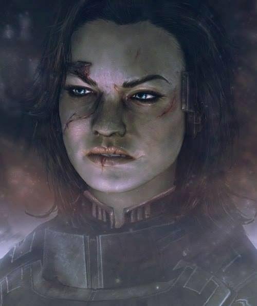 Miranda Lawson (Mass Effect) - I hated Miranda, but this is sweet!