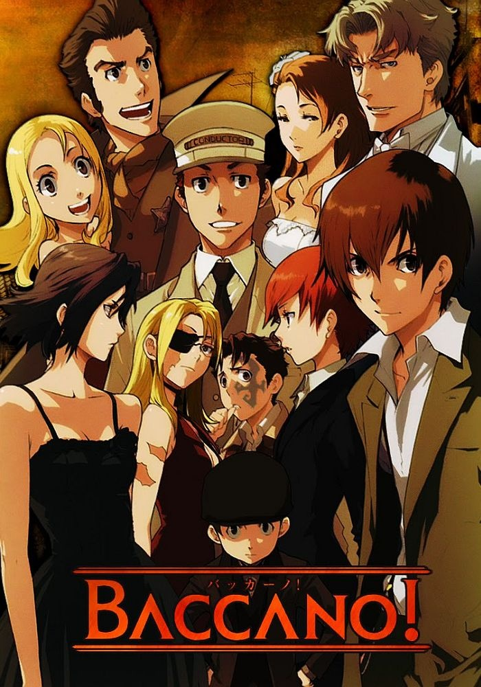 I heard Pewds watches Baccano! and that's pretty cool.