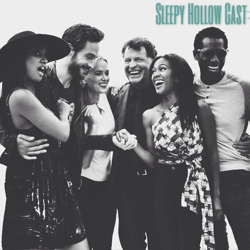 Cast of Sleepy Hollow at #SDCC2014