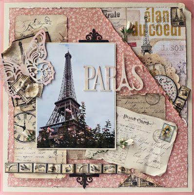 Paris page.  http://gloriascraps.blogspot.com/2012/03/paris-in-pink-imaginarium-designs.html