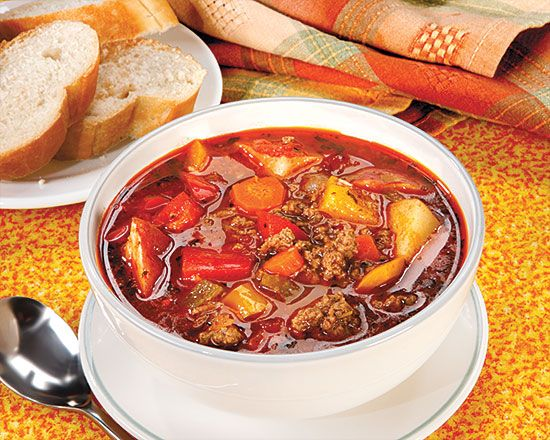 Penzey's Hamburger Soup Recipe-Review:One of my favorite soups! It's pretty easy to make and taste very good.