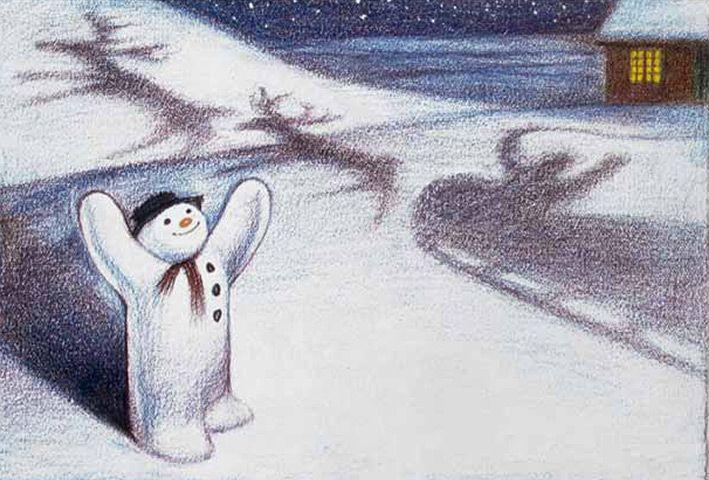 §§§ : The Snowman : Raymond Briggs : 1982