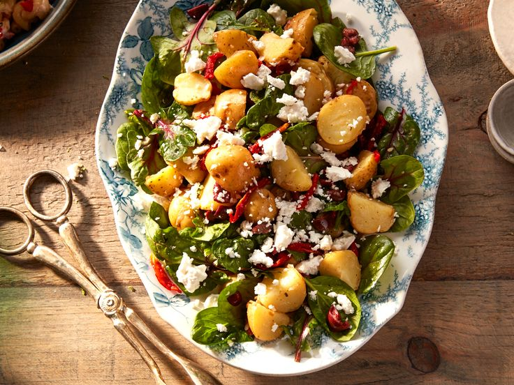 Potato salads are so last year: give yours an international twist and try a Greek potato salad - filled with olives and feta - at your next barbecue.