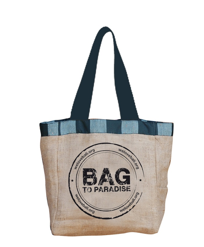 The Bag to Paradise. This is a great way to help support local NGO's and cut back on using plastic bags. Photo courtes...