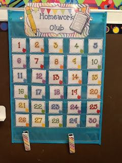 Homework Club display! if an assignment is not turned in, students will flip their number around and then, at the end of the month, those still facing forward are in the Homework Club!  This pack with awards and tons of stuff to start a Homework Club is available on TpT! @Denise H. H. grant Capps @Courtney Baker Baker Baker Burnett @Vanessa Samurio Samurio Samurio Swanner Watkins @Jennifer Milsaps L Milsaps Keller