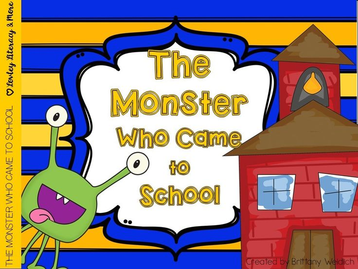 Do you teach about rules, manners and the appropriate behavior in school? If so than The Monster Who Came to School emergent reader, art & story sequencing activity is a great addition for your Back to School activities. There is also a spin & record activity, along with a color, cut and paste activity.