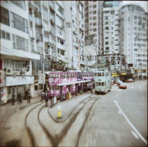 跑馬地 香港 Happy Valley, HongKong. Holga Dalian China Holga GCFN by Wanru Kemp  Holga film photographer, film photographer, Lomo art, Lomo photo, Holga photo, fine art photographer
