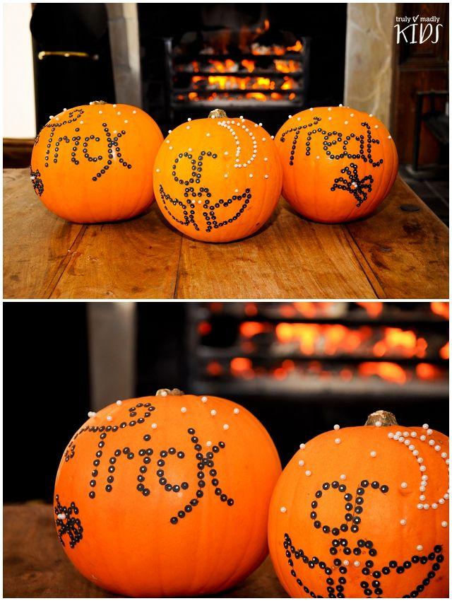 easy u0026 messfree halloween pumpkins