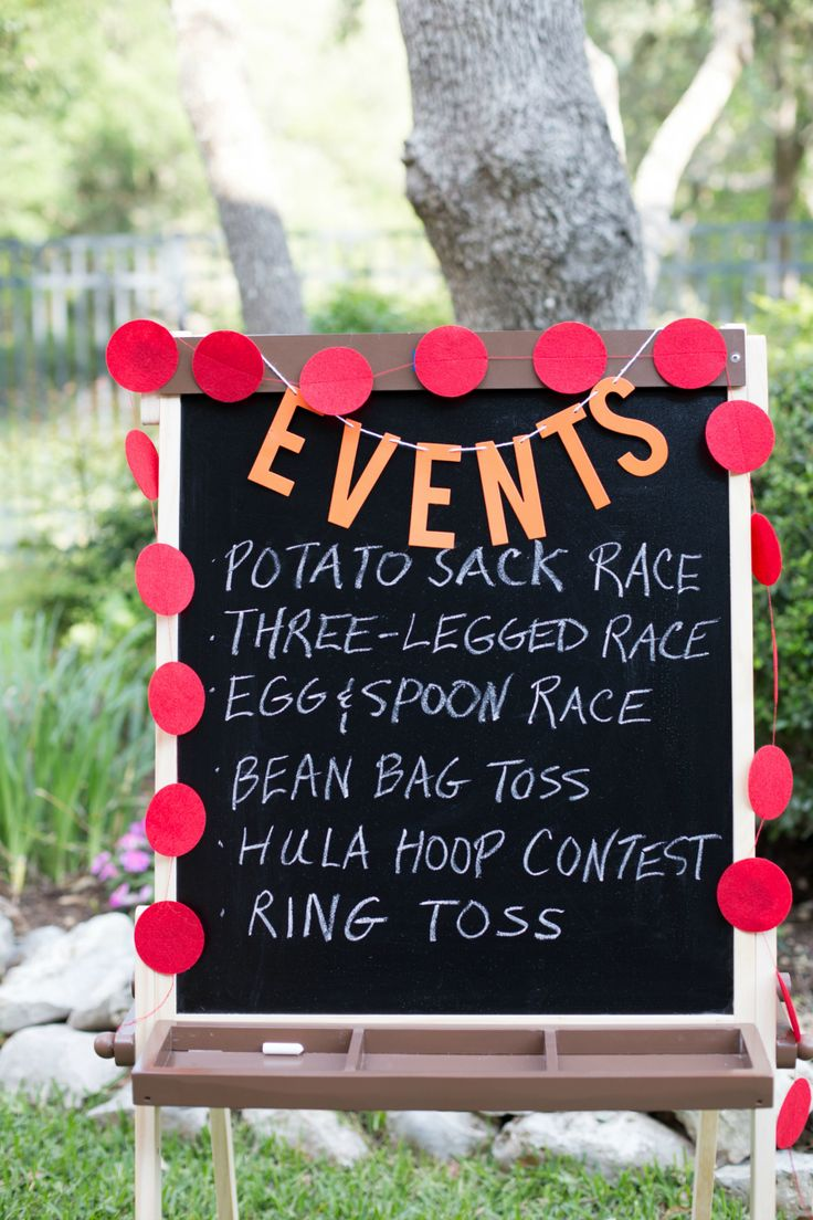Backyard party games for field day -- a summer must!!