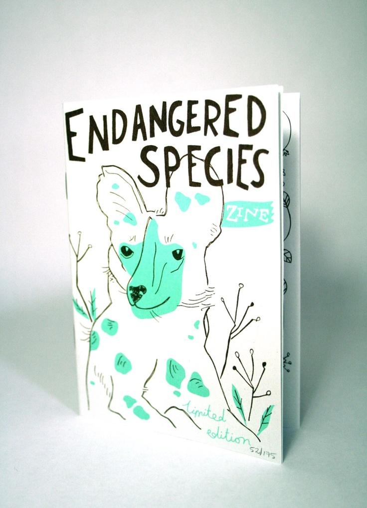 Endangered Species zine. £4,00, via Etsy.