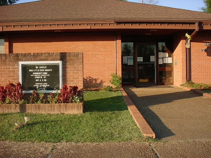 The Mendenhall Public Library is a branch of the Central ...