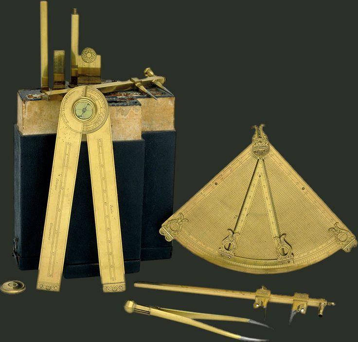 Storia della Scienza - Strumenti matematici - 17 ° Secolo - Museo Galileo - Firenze
