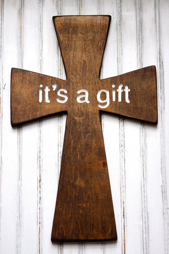 426 best scroll saw jesus and holy things images on pinterest wooden cross easter lent church or home decor engraved words its a gift negle Gallery