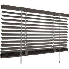 Store vénitien aluminium, gris gris n°1, l.50 x H.130 cm