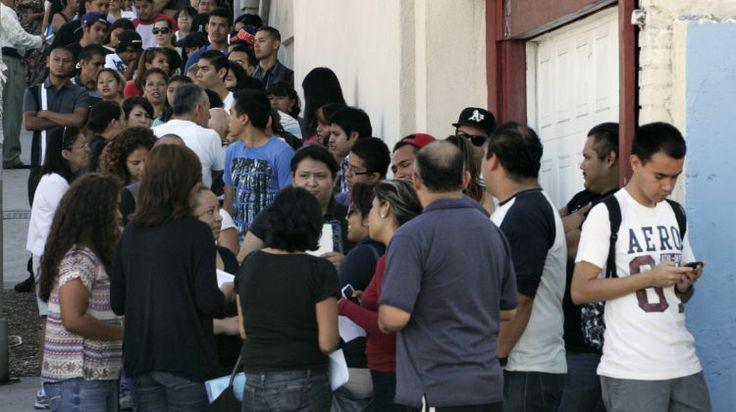 Illegals Cut the Line for Food Stamps
