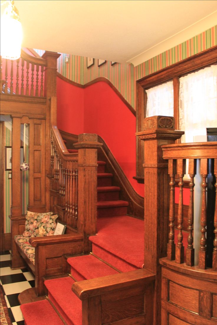 Staircase and woodwork
