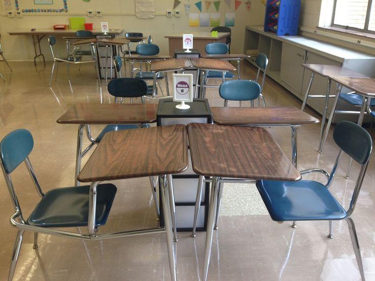 Classroom Decoration Desk Arrangements ~ Best classroom decor and organization images on pinterest