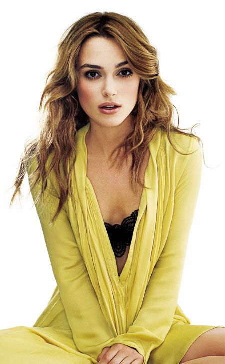 Keira Knightley. love her hair... she can pull off any hairstyle. Ooh she is my favorite