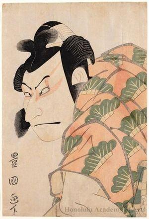 Utagawa Toyokuni I: Nakamura Nakazo II as Matsuömaru in the play, Sugawara Denju Tenarai Kagami - Honolulu Museum of Art