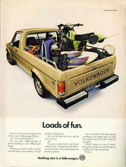 VW Caddy full of toys...
