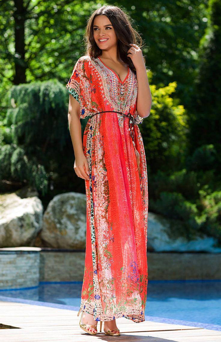 02-maxi-dress-antigua-orange-front