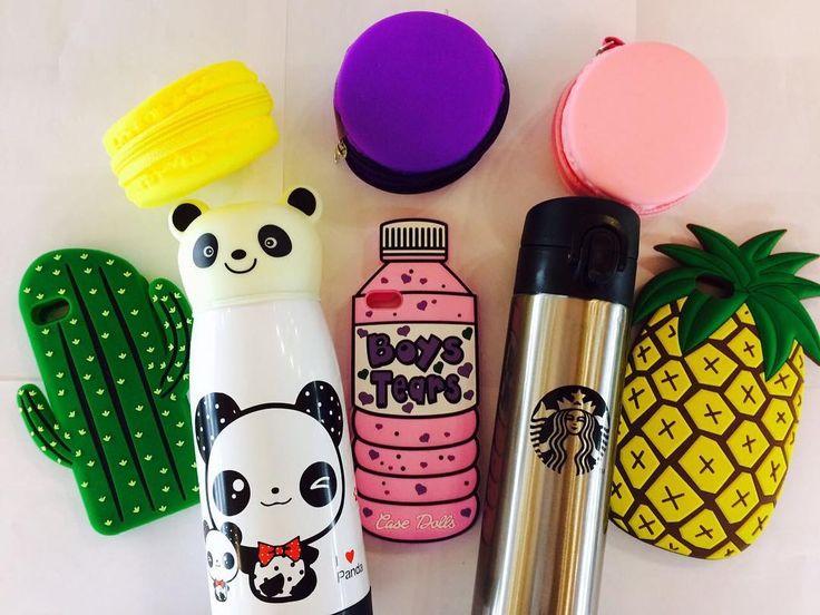 термос панда  990 термос Starbucks 1090 чехол бутылка кактус и ананас 429 монетница макарун 229 #магазинкрутыхштук #wanttasty #чехол #термос #панда