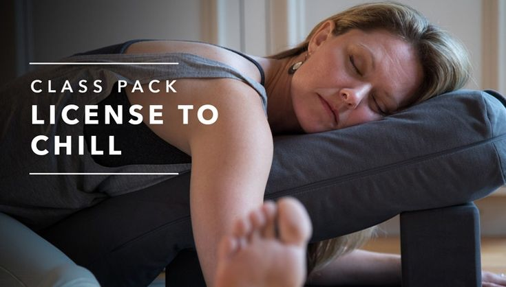 License to Chill with Jennifer Elliott features 20 minute yin/restorative yoga class videos with carefully curated music.