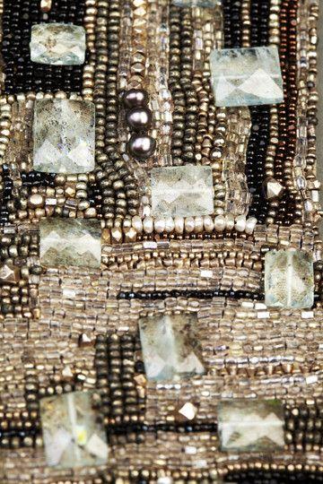 Andrea Gutierrez - New Blue Klimt Couture Cuff