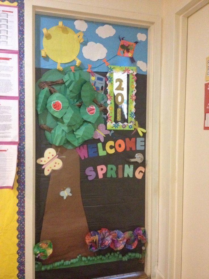 Spring preschool door theme preschool themes and craft pinterest - Door themes for preschool ...