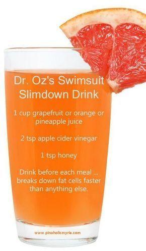 Swimsuit Slim Down Bikini Drink