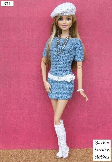 Barbie dress - No pattern