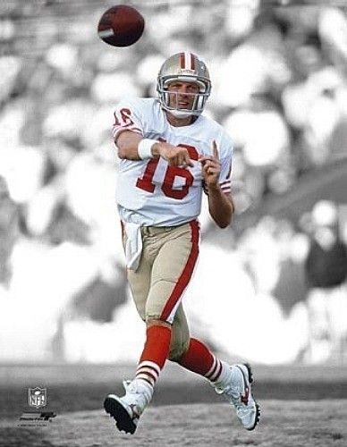 "JOE MONTANA ""San Francisco 49ers"" SPOTLIGHT LICENSED picture poster 8x10 photo"