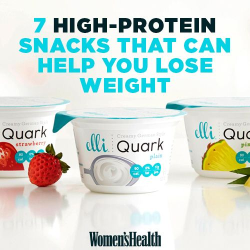 7 High-Protein Snacks That Can Help You Lose Weight - Photo by: Courtesy of Elli German Style Quark http://www.womenshealthmag.com/weight-loss/high-protein-snacks