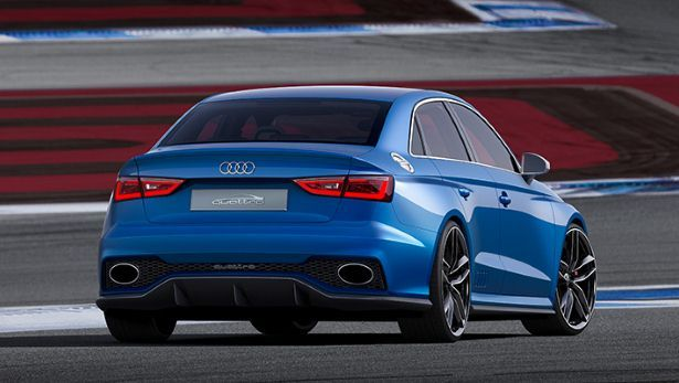 New Audi A3 Clubsport Quattro