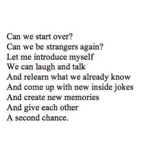 second chance quotes | Second chance. | Quotes about everything