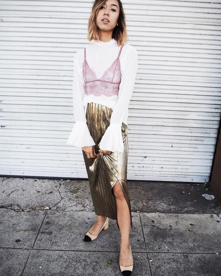 31 Perfect Looks To Copy This December #refinery29  http://www.refinery29.com/2016/12/131522/new-outfit-ideas-december-2016#slide-29  Here's one outfit you didn't think of for December 31 — but should definitely consider.Posh Square skirt....