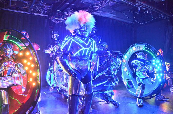 Matinee- save price on general admissionTokyo Robot Restaurant Cabaret Show Ticket - TripAdvisor