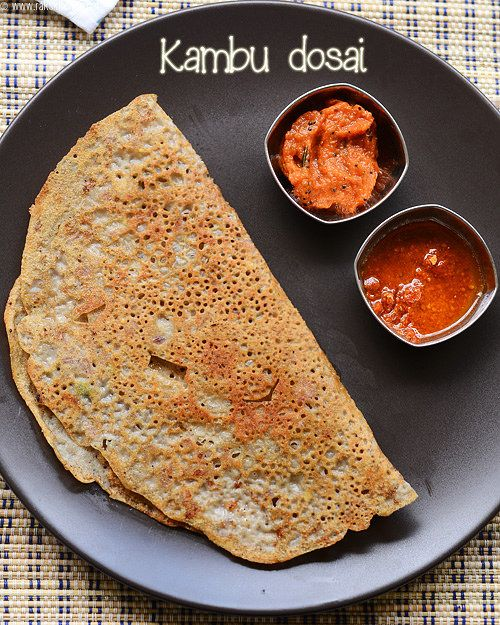 Instant bajra flour dosa, that can be made for a quick fix for your breakfast or dinner as healthy option!